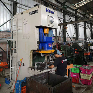 Pneumatic Punching Machine ለ Peruvian customer, HARSLE ግብረመልስ